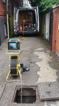 cctv drain surveys reigate