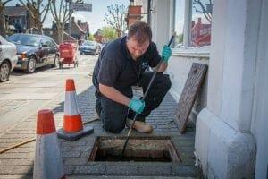 drain repairs Horley